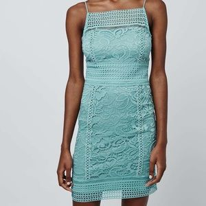 NWT Topshop Crochet Mini Dress
